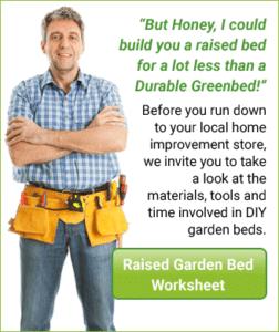 Durable Green Bed Garden Kits Better than Wood Garden Beds
