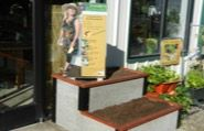 Approved stores get a free Durable Greenbed raised garden bed display for their store.