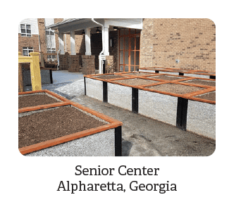 Senior Center Garden Beds