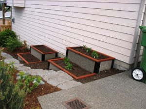 Landscape raised beds