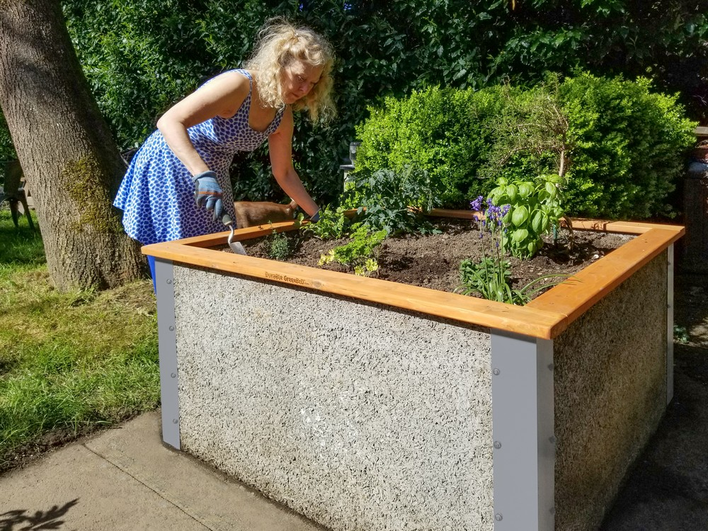 4 X4 X2 Tall Raised Garden Bed Kit By Durable Greenbed