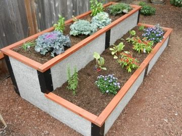 Raised Garden Bed 4x8 Tiered Durable GreenBed kit