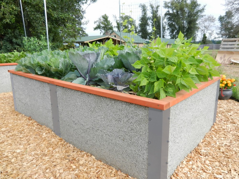 Our 4 X8 X2 Tall Raised Garden Bed Kit By Durable Greenbed