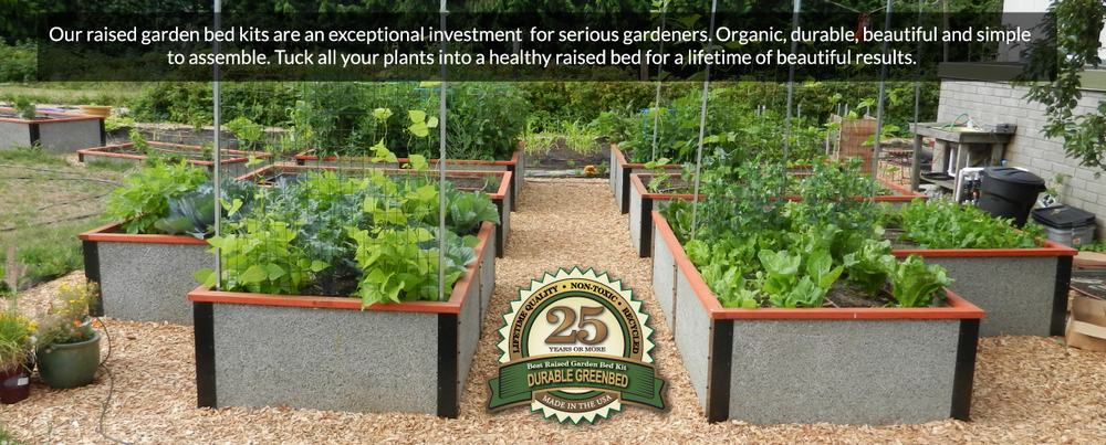 Community Garden Beds with Durable raised bed garden kits