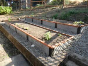 Landscape Terracing with Garden Beds
