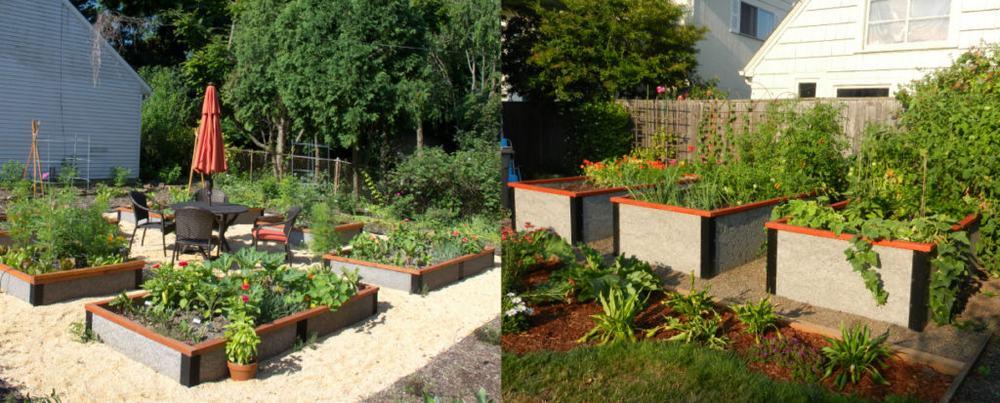 non toxic raised garden bed kit