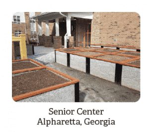 Senior Center Garden Beds