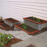 Tiered Durable Green Beds as landscape garden bed