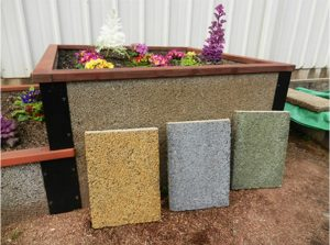 Custom Color- Stain Durable GreenBed